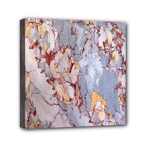 Marble Pattern Mini Canvas 6  X 6
