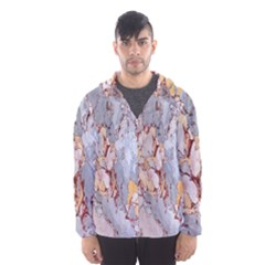 Marble Pattern Hooded Wind Breaker (men)