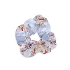 Marble Pattern Velvet Scrunchie