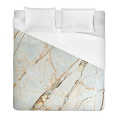 Marble Texture White Pattern Surface Effect Duvet Cover (full/ Double Size)