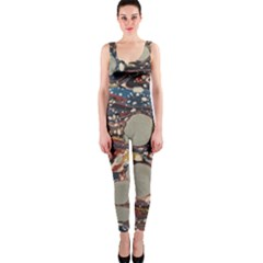 Marbling Onepiece Catsuit