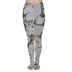 Slate Marble Texture Women s Tights