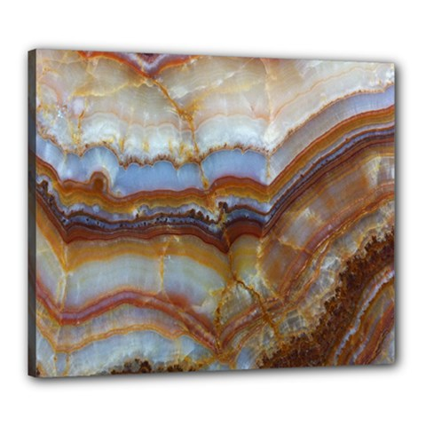 Wall Marble Pattern Texture Canvas 24  X 20