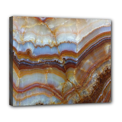 Wall Marble Pattern Texture Deluxe Canvas 24  X 20