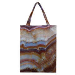 Wall Marble Pattern Texture Classic Tote Bag