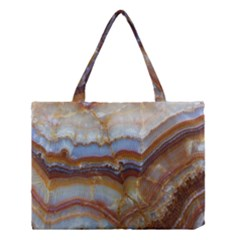 Wall Marble Pattern Texture Medium Tote Bag