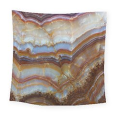 Wall Marble Pattern Texture Square Tapestry (large)