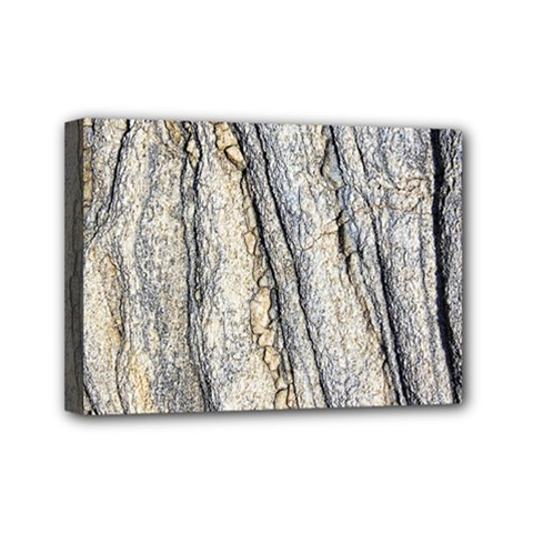 Texture Structure Marble Surface Background Mini Canvas 7  X 5  by Nexatart