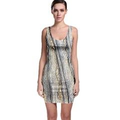 Texture Structure Marble Surface Background Bodycon Dress