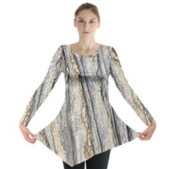 Texture Structure Marble Surface Background Long Sleeve Tunic