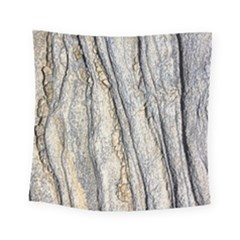 Texture Structure Marble Surface Background Square Tapestry (small)