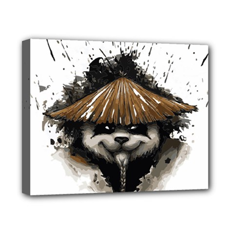 Warrior Panda T Shirt Canvas 10  X 8  by AmeeaDesign