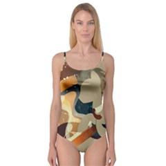 Dr Hooves Stream Wall  Camisole Leotard  by amphoto