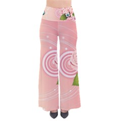 Rose Butterfly Patterns  Pants by amphoto