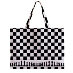 Chess  Zipper Mini Tote Bag by Valentinaart