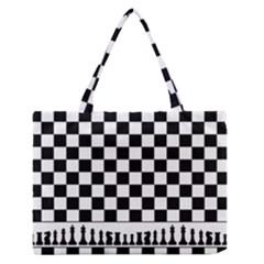 Chess  Zipper Medium Tote Bag by Valentinaart