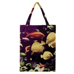 Tropical Fish Classic Tote Bag by Valentinaart