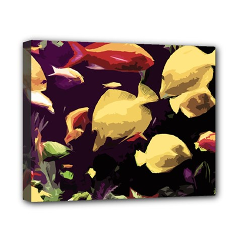 Tropical Fish Canvas 10  X 8  by Valentinaart