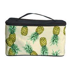 Pineapples Pattern Cosmetic Storage Case by Valentinaart
