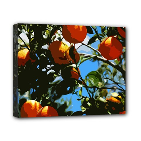 Orange Tree Canvas 10  X 8  by Valentinaart