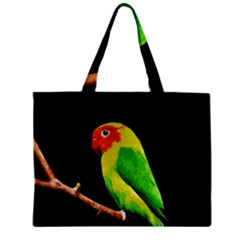 Parrot  Zipper Mini Tote Bag by Valentinaart