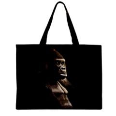 Gorilla  Zipper Mini Tote Bag by Valentinaart