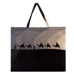 Caravan  Zipper Large Tote Bag by Valentinaart