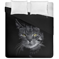 Domestic Cat Duvet Cover Double Side (california King Size) by Valentinaart