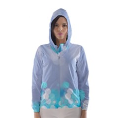 Highlights Circles Light  Hooded Wind Breaker (women) by amphoto