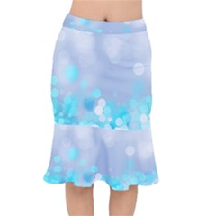 Highlights Circles Light  Mermaid Skirt by amphoto