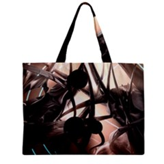 Connection Shadow Background  Zipper Mini Tote Bag by amphoto