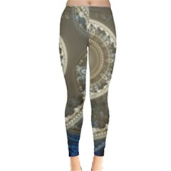 2299 Circles Light Gray 3840x2400 Leggings  by amphoto