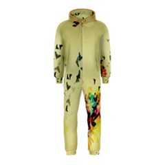 2398 Flight Sky Butterflies 3840x2400 Hooded Jumpsuit (kids) by amphoto
