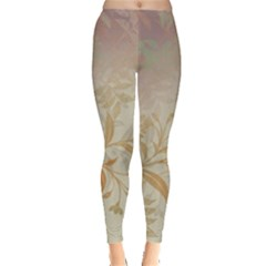 2349 Pattern Background Faded 3840x2400 Leggings  by amphoto