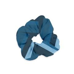 2435 Line Gray Blue 3840x2400 Velvet Scrunchie by amphoto