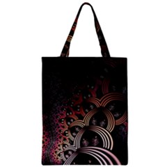 Patterns Surface Shape Zipper Classic Tote Bag by amphoto