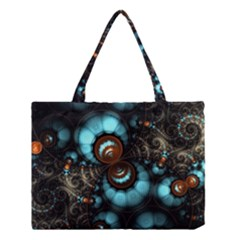 Spiral Background Form 3840x2400 Medium Tote Bag by amphoto