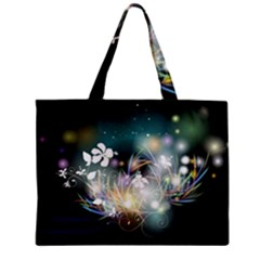 Abstraction Color Pattern 3840x2400 Zipper Mini Tote Bag by amphoto