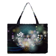 Abstraction Color Pattern 3840x2400 Medium Tote Bag by amphoto