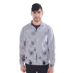 Squares Colorful Spots  Wind Breaker (men) by amphoto