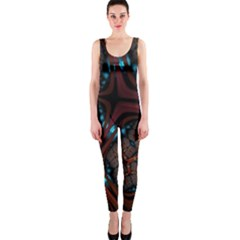 Surface Grid Lines  Onepiece Catsuit by amphoto