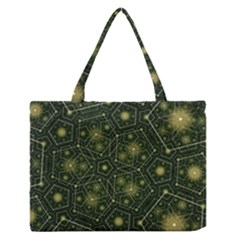 Shape Surface Patterns  Zipper Medium Tote Bag by amphoto
