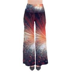 Plexus Background Colorful  Pants by amphoto