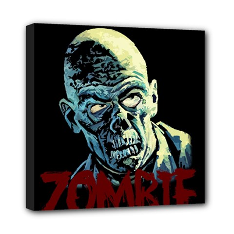 Zombie Mini Canvas 8  X 8  by Valentinaart