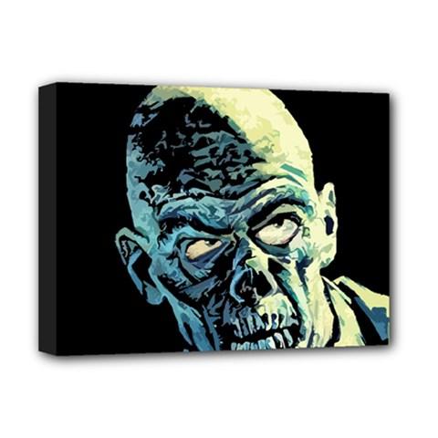 Zombie Deluxe Canvas 16  X 12   by Valentinaart
