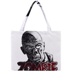 Zombie Mini Tote Bag by Valentinaart