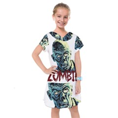 Zombie Kids  Drop Waist Dress