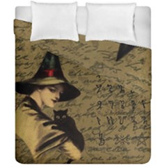 Witchcraft Vintage Duvet Cover Double Side (california King Size) by Valentinaart