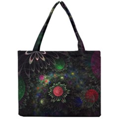 Shapes Circles Flowers  Mini Tote Bag by amphoto