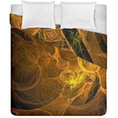 Spot Background Dark  Duvet Cover Double Side (california King Size) by amphoto